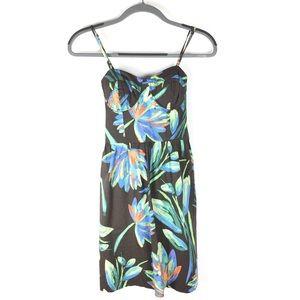 LC Lauren Conrad | Airbrush Floral Dress
